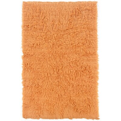 Boles Hand-Woven Pumpkin Area Rug Rug Size: Rectangle 24 x 43