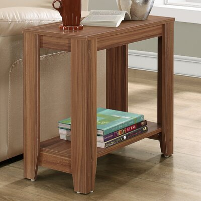 Trombetta End Table Color: Walnut