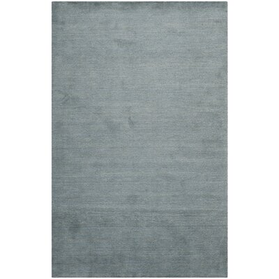 Bolick Dark Blue Ombre Area Rug Rug Size: 6 x 9