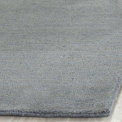 Bolick Dark Blue Ombre Area Rug Rug Size: Square 6
