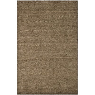 Bargo Brown Solid Area Rug Rug Size: Rectangle 5 x 8