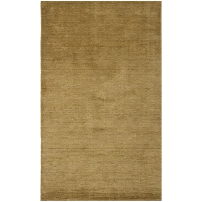 Bargo Green Solid Area Rug Rug Size: Rectangle 5 x 8