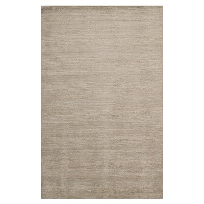 Trost Grey Solid Area Rug Rug Size: Runner 23 x 6