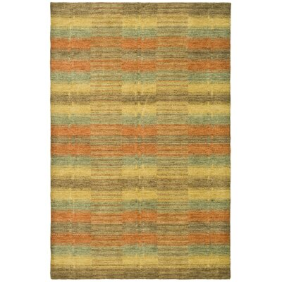 Trost Striped Area Rug Rug Size: 4 x 6