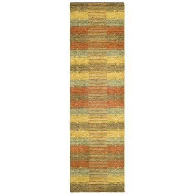 Trost Striped Area Rug Rug Size: Runner 23 x 10