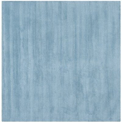Bargo Hand-Woven Wool Blue Area Rug Rug Size: Square 4