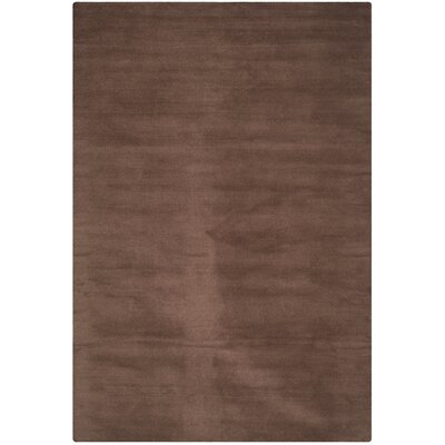 Trost Brown Area Rug Rug Size: 5 x 8