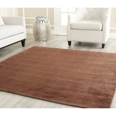 Trost Brown Area Rug Rug Size: Square 6