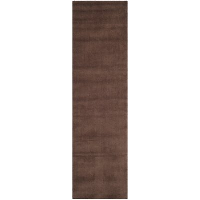 Trost Brown Area Rug Rug Size: Runner 23 x 8