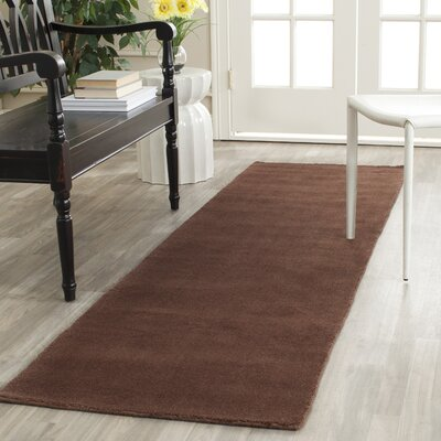 Bargo Brown Area Rug Rug Size: Runner 23 x 10