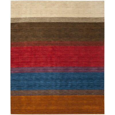Bolick Red/Green Area Rug Rug Size: 89 x 12