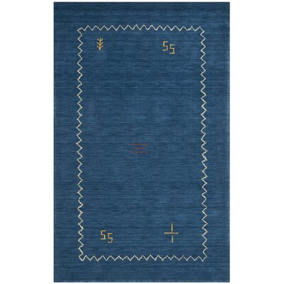 Bolick Blue Area Rug Rug Size: 6 x 9