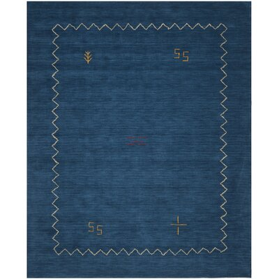 Bolick Blue Area Rug Rug Size: Rectangle 6 x 9