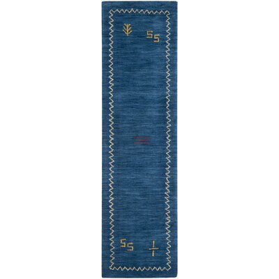 Bolick Blue Area Rug Rug Size: Runner 23 x 10