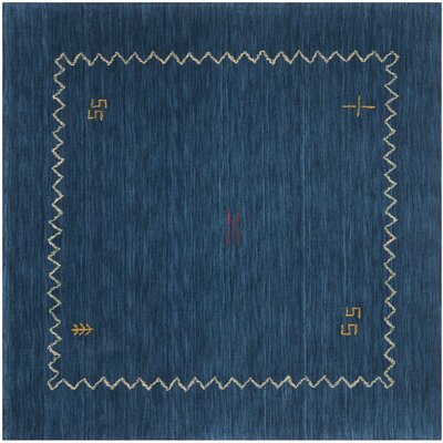 Bolick Blue Area Rug Rug Size: Square 6