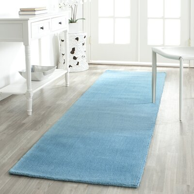 Bargo Turquoise Area Rug Rug Size: Runner 23 x 8