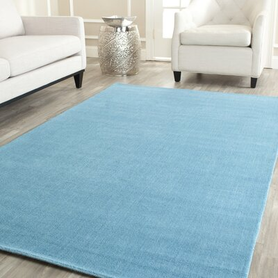 Trost Turquoise Area Rug Rug Size: Rectangle 4 x 6