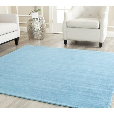 Bargo Turquoise Area Rug Rug Size: Square 4