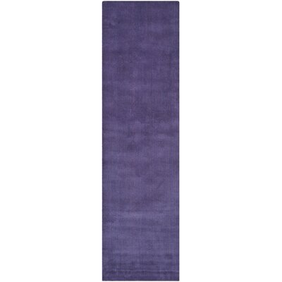 Bargo Purple Area Rug Rug Size: Runner 23 x 12