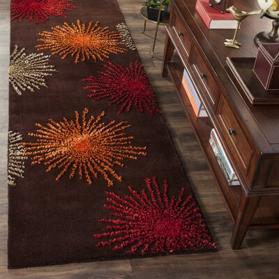 Dash Multi-Colored Area Rug Rug Size: Runner 26 x 6
