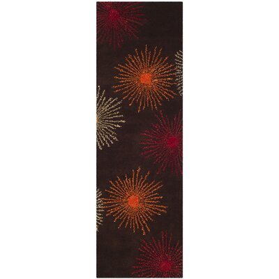 Dash Multi-Colored Area Rug Rug Size: Runner 26 x 12