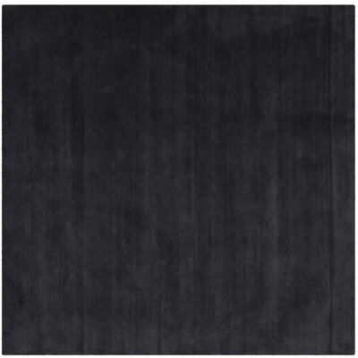 Bargo Black Area Rug Rug Size: Square 6