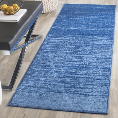 Fentress Blue Area Rug Rug Size: Runner 26 x 8