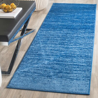 Fentress Blue Area Rug Rug Size: Runner 2'6