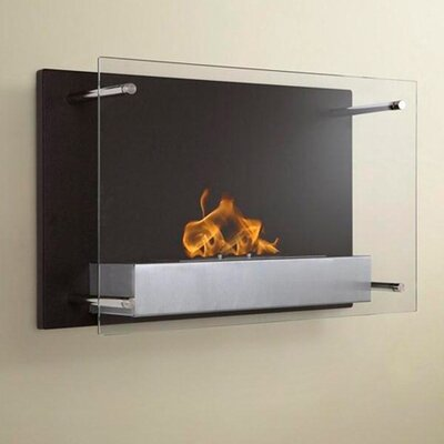 Fellman Wall Mount Ethanol Fireplace