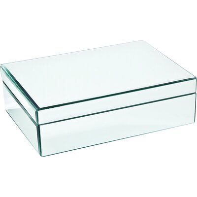Madison Mirrored Trinket Box