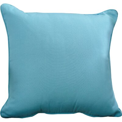 Ferree Outdoor Throw Pillow Color: Atlantis, Size: 16