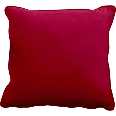 Lavonna Outdoor Throw Pillow Size: 22 H x 22 W, Color: Lipstick