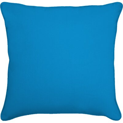 Lavonna Outdoor Throw Pillow Size: 16 H x 16 W, Color: Fresco Blue