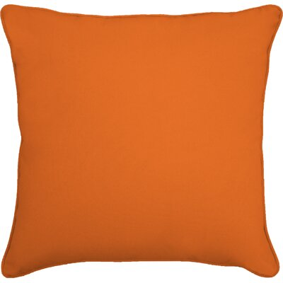 Lavonna Outdoor Throw Pillow Size: 18 H x 18 W, Color: Fresco Mandarin