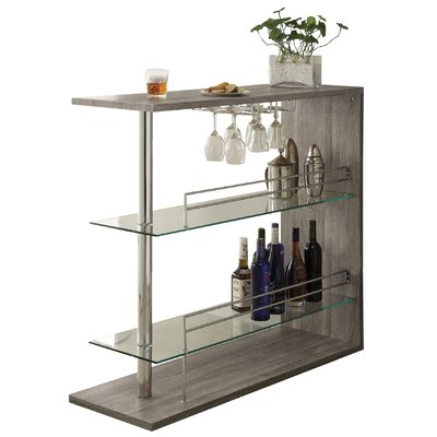 Canela Bar with Wine Storage