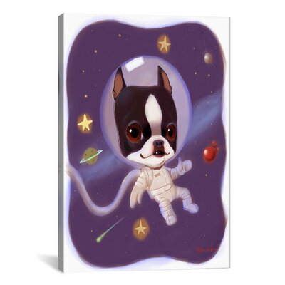 Brian Rubenacker Astronaut Graphic Art on Wrapped Canvas Size: 18