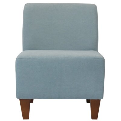 Fender Penelope Slipper Chair Upholstery: Twighlight Blue