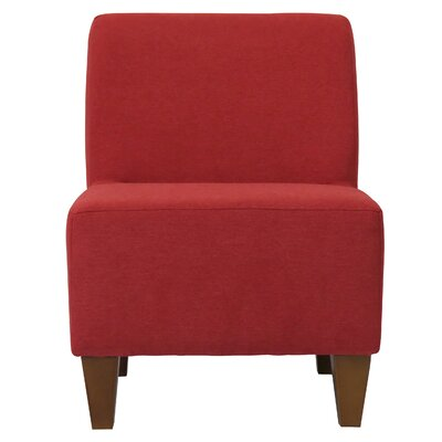 Fender Penelope Slipper Chair Upholstery: Marsala Red