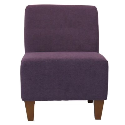 Fender Penelope Slipper Chair Color: Eggplant