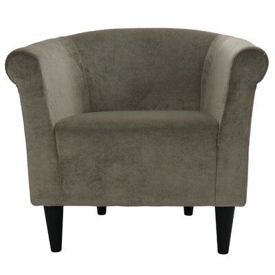 Feller Savannah Barrel Chair Color: Silver