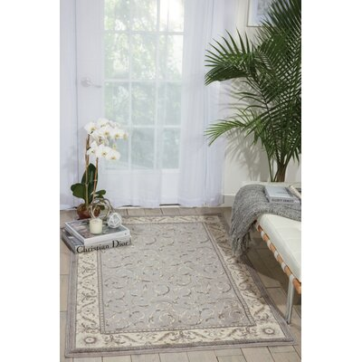 Roscoe Silver Area Rug Rug Size: Rectangle 79 x 1010