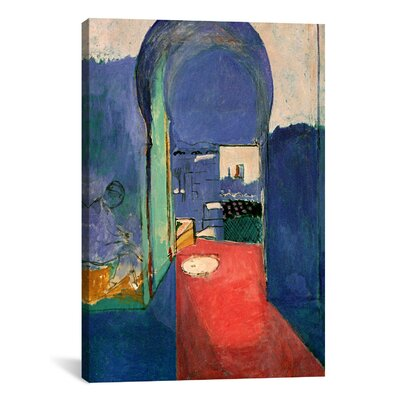 'Entrance to the Kasbeh, 1912' by Henri Matisse Painting Print on Canvas Size: 12