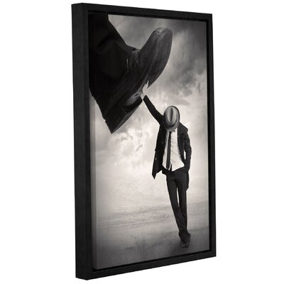 'Still Standing' Framed Graphic Art Print on Canvas Size: 12'' H x 8'' W x 2'' D