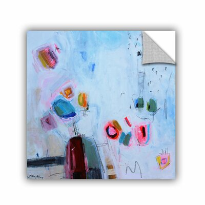 Printers Row Abstract Gems 1 Wall Mural Size: 14