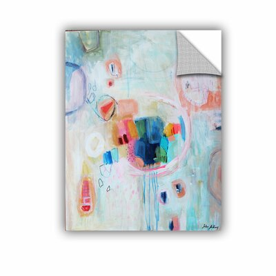 Printers Row Abstract Gems 2 Wall Mural Size: 18