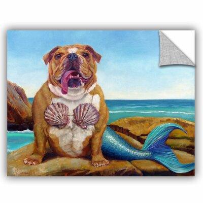 Balbo Mermaid Dog Wall Decal Size: 14'' H x 18'' W x 0.1'' D