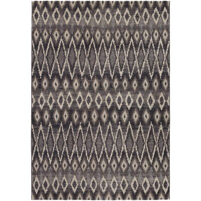Sappington Gray Area Rug Rug Size: 92 x 125