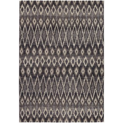 Sappington Gray Area Rug Rug Size: 53 x 76