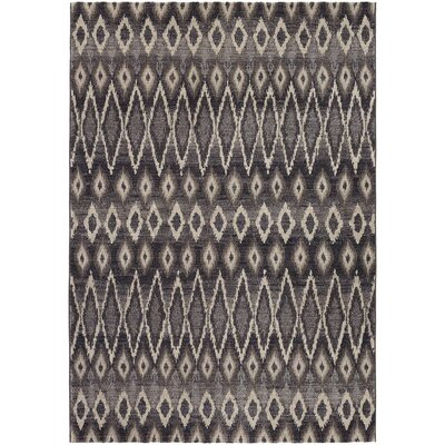Sappington Gray Area Rug Rug Size: Rectangle 92 x 125