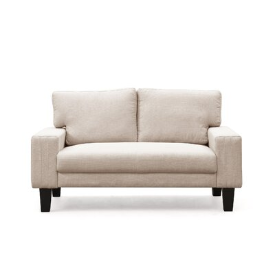 Konawa Loveseat Color: Beige